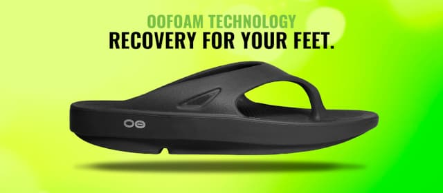 Oofos recovery slippers